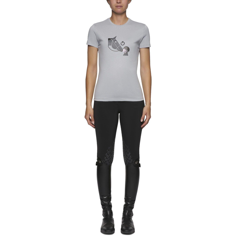 T-shirt donna Girls Love Horses